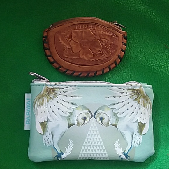 Papaya Handbags - 🦉🦉2 Coin purses